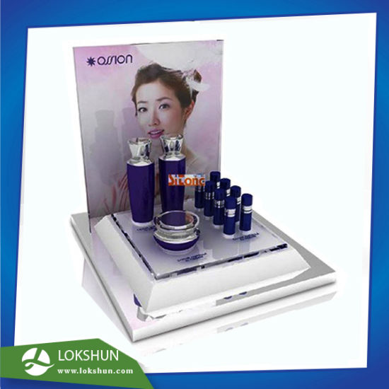 Customized Perspex Point of Sale Skincare Display, Acrylic Cosmetic Display Supplier China pictures & photos