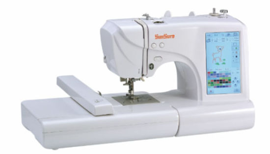 China SsEs40 Computer Embroidery And Sewing Machine China Machine Beauteous Computer Sewing Machine Embroidery