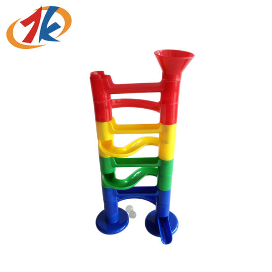 Novelty Promotional DIY Plastic Pipe Ball Game Toy