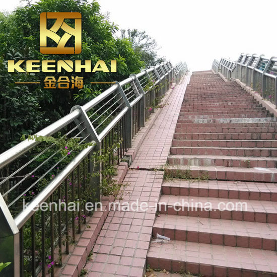 2018 New Customized Design Stainless Steel Outdoor Stair Railings