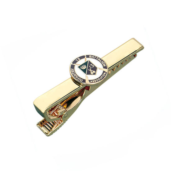Soft Enamel Tie Clip for Men′s pictures & photos