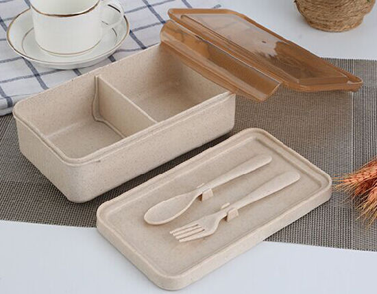 Wheat Straw Outdoor Storage Box Food Storage Box Lunch Containers & China Wheat Straw Outdoor Storage Box Food Storage Box Lunch ...