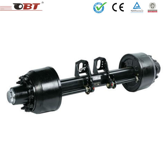 2018 New Production 15 Ton Truck Five Spoke Axle for Semi-Trailer pictures & photos