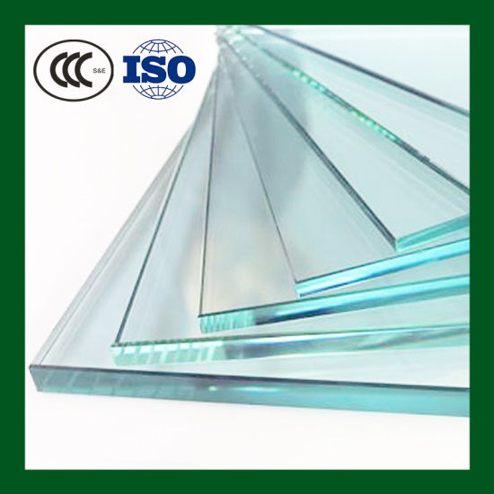 10mm Clear Stained Glass Tempered Glass Clear Float Glass