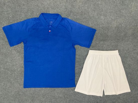 2020 Fashion France Home Blue Jerseys and Shorts