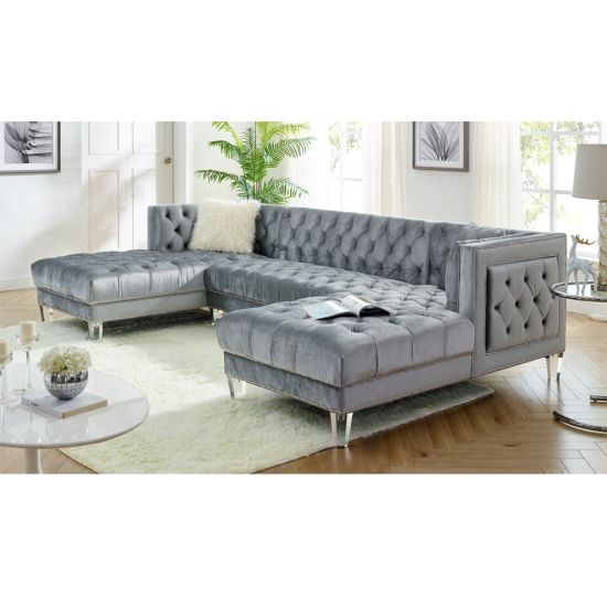 Chainiti Corner Group Modern Sofa Set