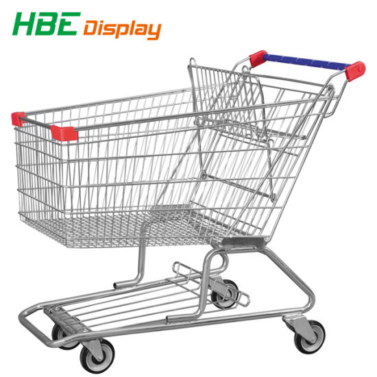 Supermarket Shopping Trolley Cart Hand Trolley pictures & photos