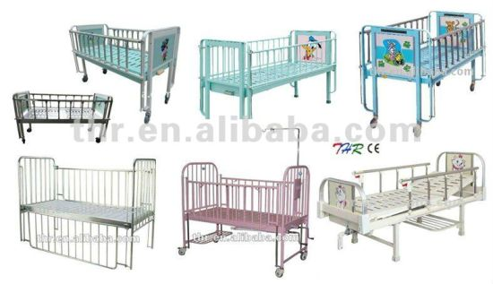 Thr-CB15 2-Crank Hospital Children Bed pictures & photos
