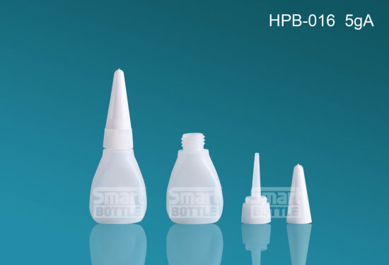 Hot Selling Hopson 5g HDPE Plastic Bottle for Glue