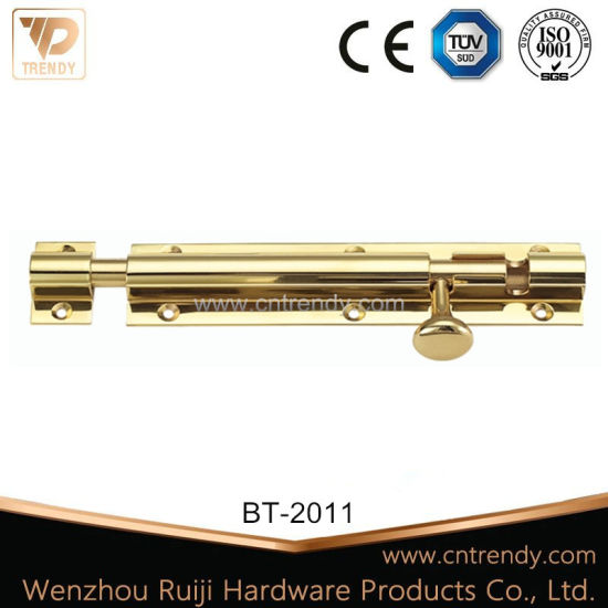 Brass Square Head Sliding Bolt for Door&Window (BT-2004) pictures & photos