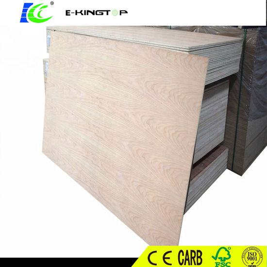 Factory Price 18mm E0 Glue Melamine Block Board/Blockboard