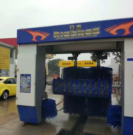 China Cf 330 Automatic Rollover Car Washing Machine With Five