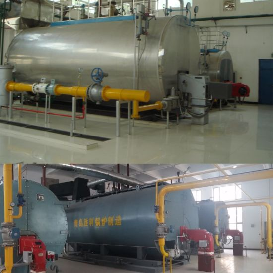 China 1-20ton/Hr Wet Back Automatic Industrial Oil Gas Boiler ...
