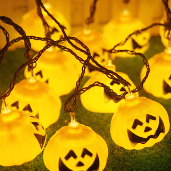 5m 30 LED Haloween Decoration Pumpkin Orange String Light pictures & photos