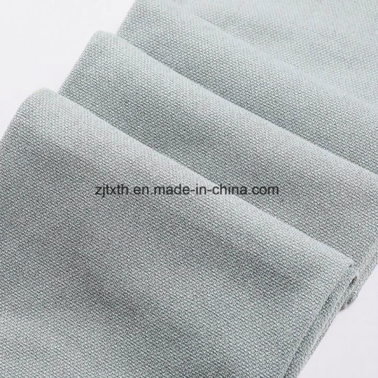 For Covering Sofa Elegant 100% Polyester Linen Look Fabric