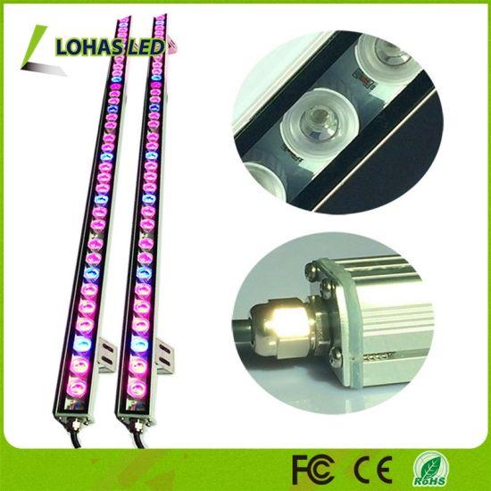 China Waterproof 108W 81W 54W LED Grow Light Bar with Red