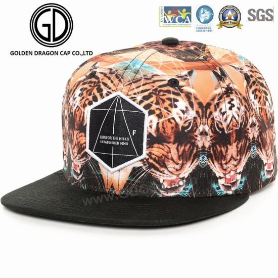 d30e86b189f73 Custom Screen Print Cap High Quality 3D Embroidery Flat Bill Snapback Hats  Fashion Baseball Cap