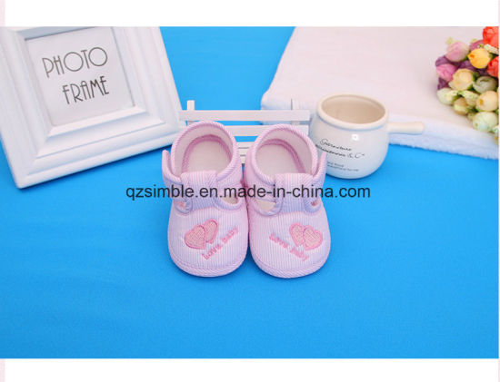 Baby Booties with Soft Outsole - China