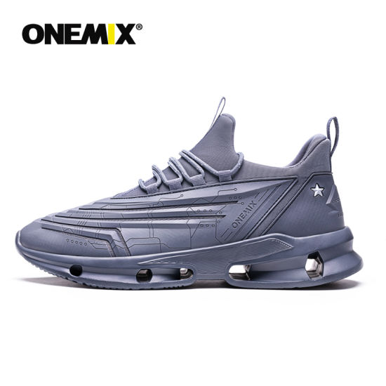 Onemix 1523 Spring New Arrival Technology Style Breathable Mesh Sneakers