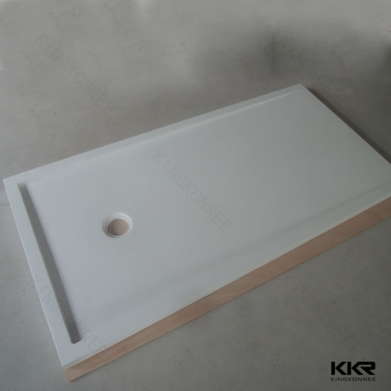 Charmant Custom Size Solid Surface Shower Tray Composite Stone Shower Bases (180810)