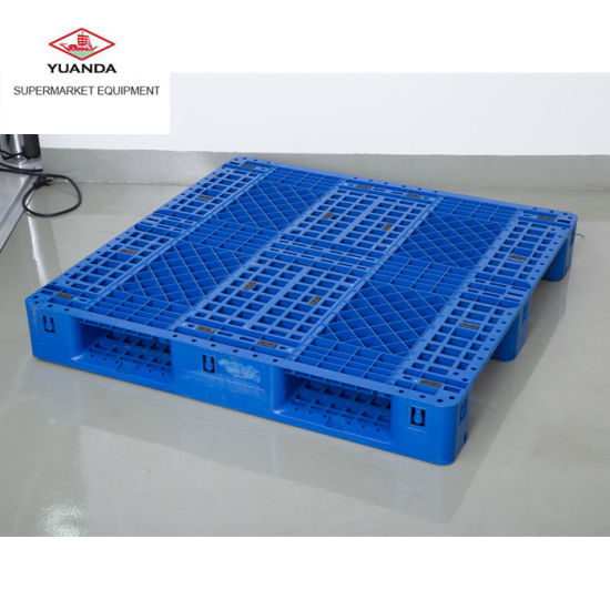 China Supplier Stackable Plastic Pallet for Heavy Goods