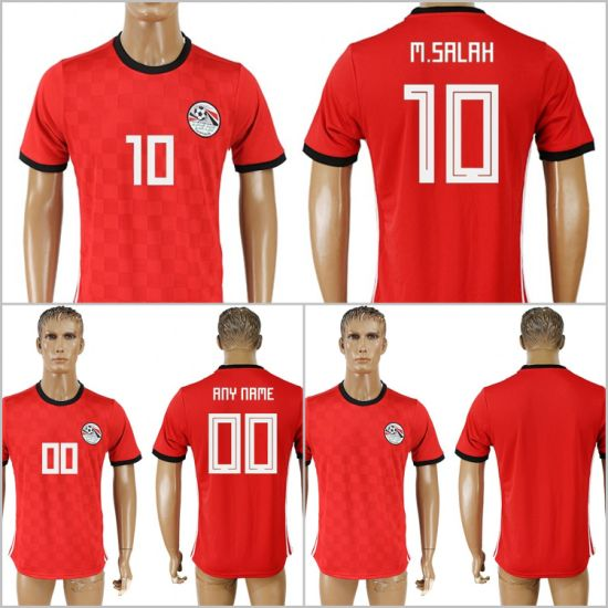 2b8c20dc4 2018 World Cup Russia Egypt National Customized M. Salah Soccer Jerseys