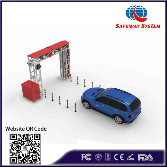 OEM X-ray Security Inspection Machine for Scanning Passenger Cars and Vehicles
