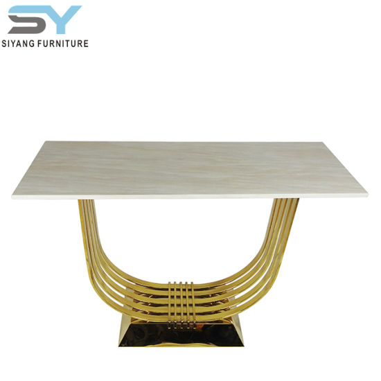 China Mirror Furniture Gl Tables Mirrored Console Table Rose Gold