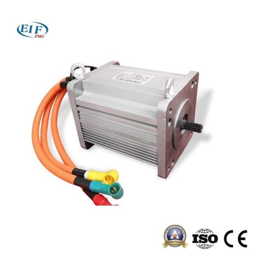 Electric Vehicle Ac Induction Motor 7 5kw3000rpm48v Eif As748