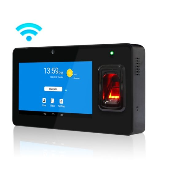 (Model GT168) Wireless Android Fingerprint and 125kHz ID Card Time Attendance System with GPS
