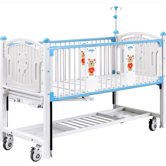 CX2x FDA Certification Hospital Children Sick Bed with Safe Guardrail