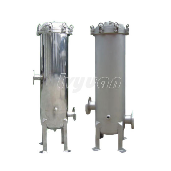 Industrial SS304 316 Stainless Steel Housing for Wine Filter