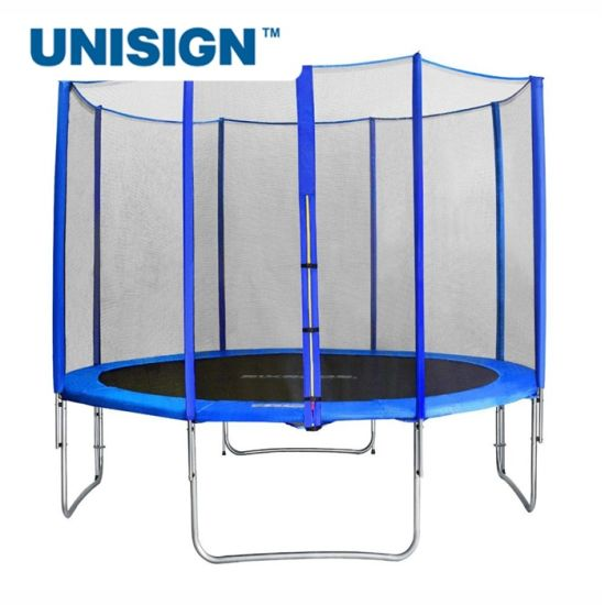 Outdoor Backyard Trampolines 8FT 10FT 12FT Trampoline for Kids with Safety Enclosure Net