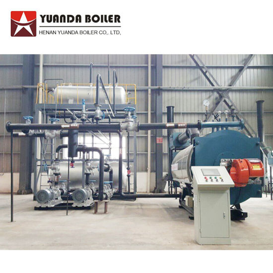 China Natural Gas Fuel Fired thermal oil boiler thermal oil heaters ...