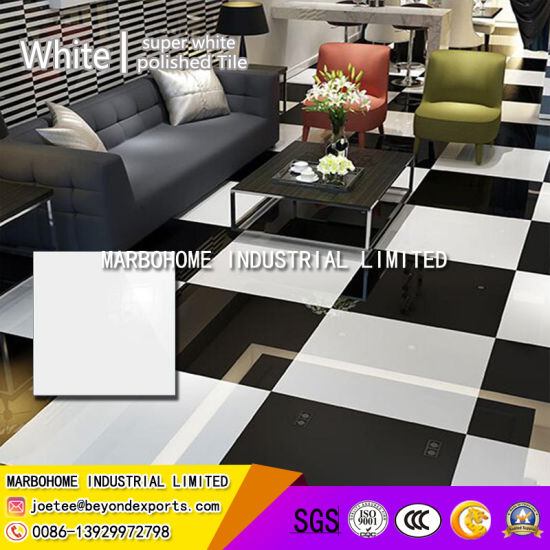 China Building Material Super White And Super Black Polished