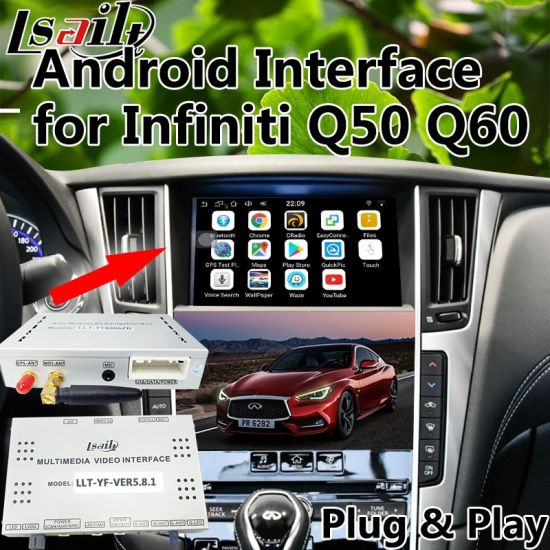 China Android 6 0 GPS Navigation Box for Infiniti Q50 Q60