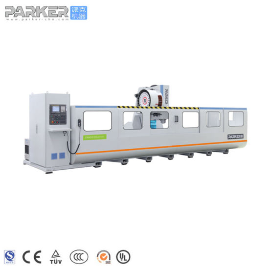 Industrial Aluminum Profile CNC Milling and Tapping Machining Center