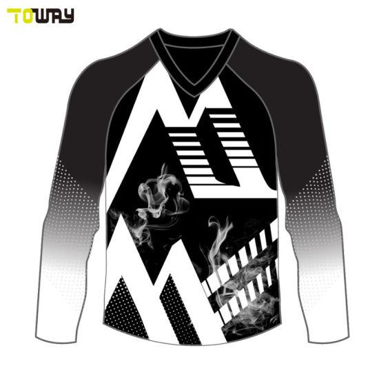 31b542d10 China Custom Sublimated Racing Pit Crew Shirts - China Motocross ...