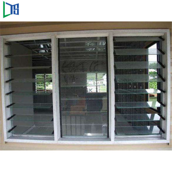 China Tempered Glass Jalousie Windows In The Philippines