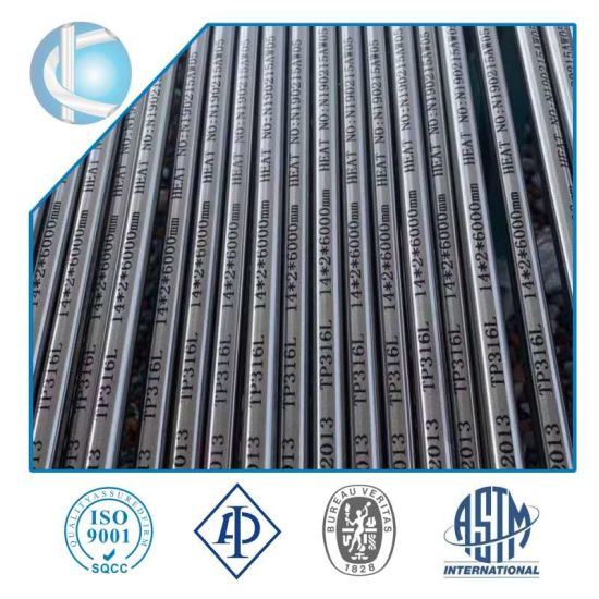 TP304 Tp316 ASTM312 ASTM213 Cold Rolled Stainless Steel Seamless Pipe