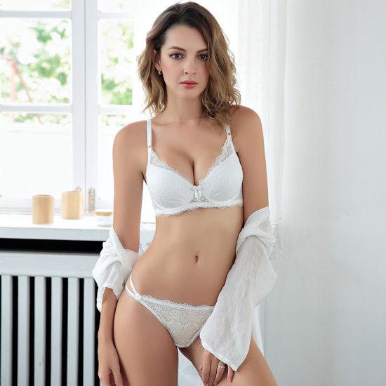 China Sexy Padded Underwear Lace Push up Bra Set for Woman - China ... 69fc1b88f