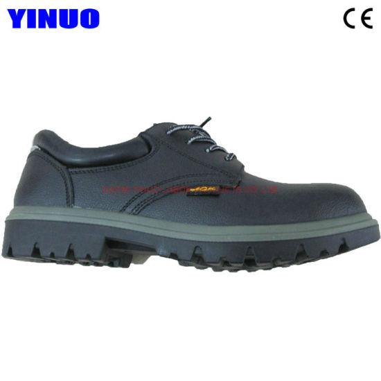 Steel Toe Steel Midsole Industrial Men's Safety Shoes