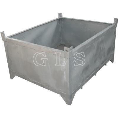 HDG Steel Flat Rack Bin (used to storage container lashing equipment)