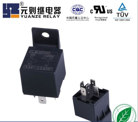 Auto Spare Part Motor Parts 4pins Relaywith with Waterproof Relay