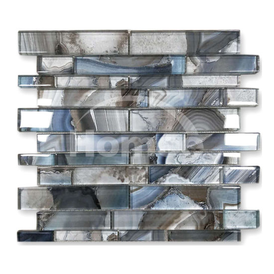 Linear Texture Tile Backsplash Gl