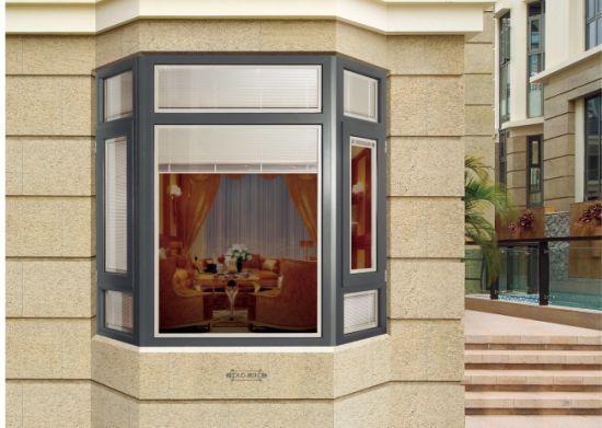 Thermal Break Australian Standard Double Glass Aluminium Window Glass Sliding Window