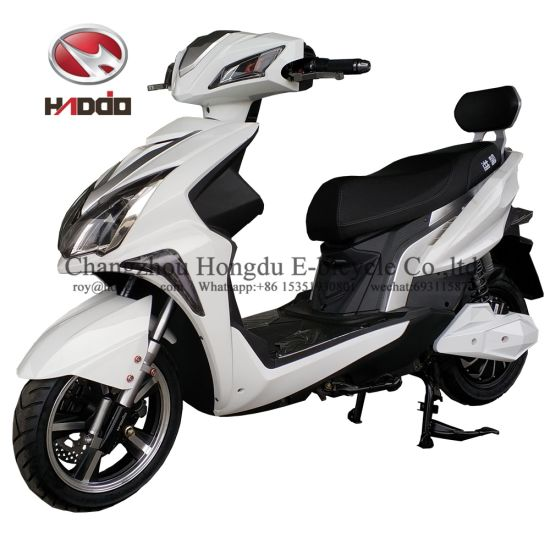 Newest 1000W Motor Fashion Powerful Motorcycle Lead Acid Battery Electric Scooter for Audlt pictures & photos