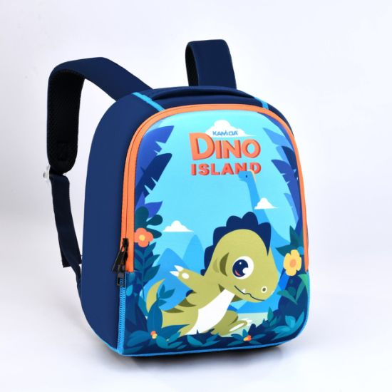 Customized Neoprene Cartoon Cute Kids Backpack Toddler School Bag