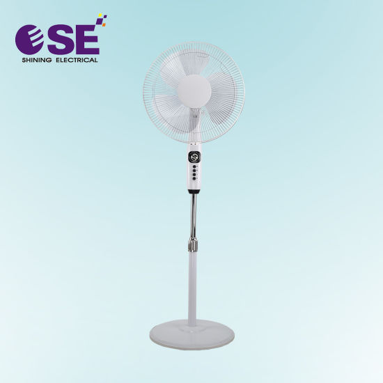 16 Inch High Quality Competitive White Stand Fan