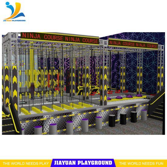 Trampoline Park Indoor Equipment, Extreme Trampoline Ninja Warrior, Sky Zone Supplier
